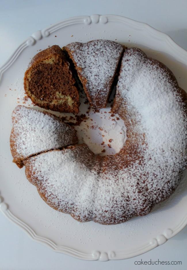 Nutella Swirl Bundt Cake