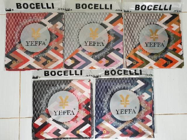 Jilbab Segi Empat Bocelli Premium Motif Cantik Modis By Yeffa Scarf Terbaru Pilihan Warna