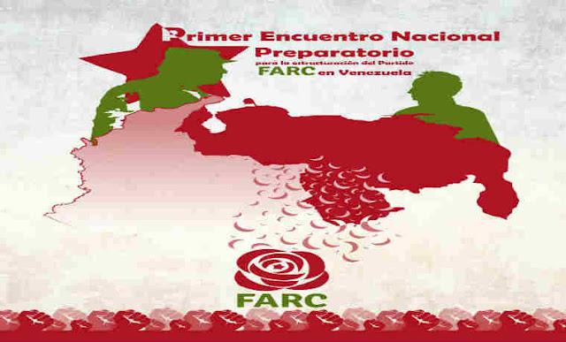 Farc celebrará encuentro para creación de partido en Venezuela