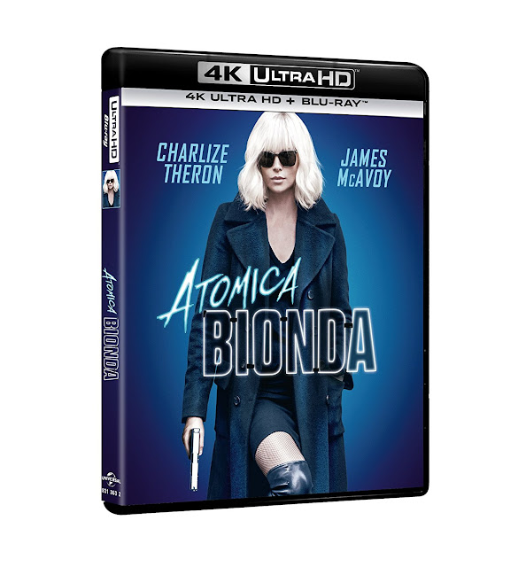 Atomica Bionda Home Video
