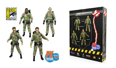 San Diego Comic-Con 2019 Exclusive Ghostbusters Slimed Edition Action Figure Box Set by Diamond Select Toys