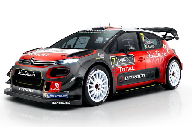 Citroën plans C3 inspired by the WRC