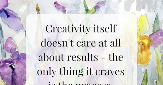 Creativity doesn't care about results