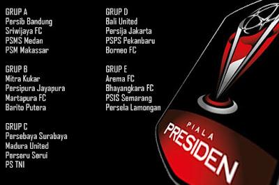 Pembagian Grup dan Jadwal Lengkap Piala Presiden 2018 www.guntara.com