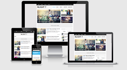 N Light Adsense Blogspot Template