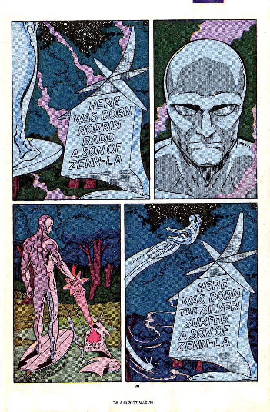 Read online Silver Surfer (1987) comic -  Issue #2 - 29
