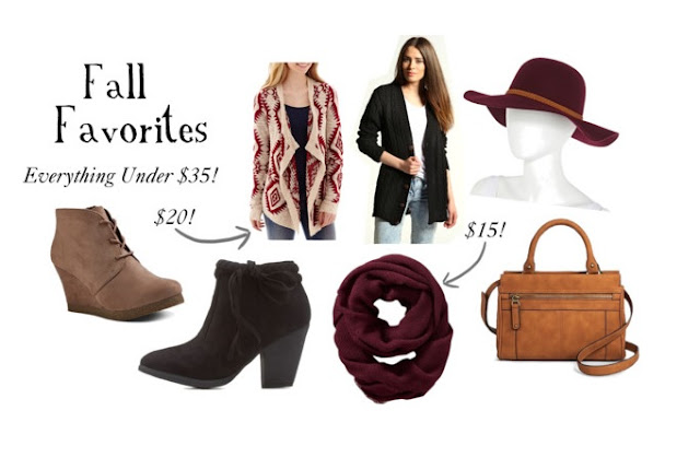 Fall Outfit Wishlist for September