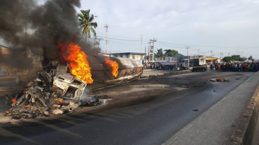 Image result for In Nigeria;  Renowned Ondo Magistrate and Son The Tanker at Fire Accident in Edo