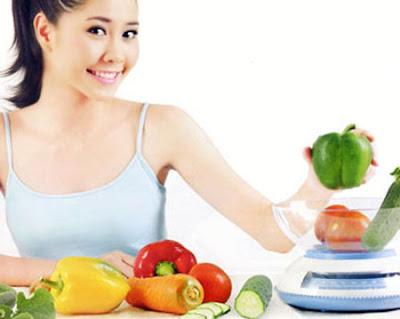 kết hợp chế độ dinh dưỡng hợp lý với người giảm cân