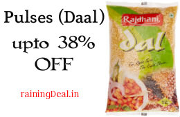 Rajdhani Moong Dhuli 500g For Rs 51 (Mrp 78) Amazon (Other pulses list inside)