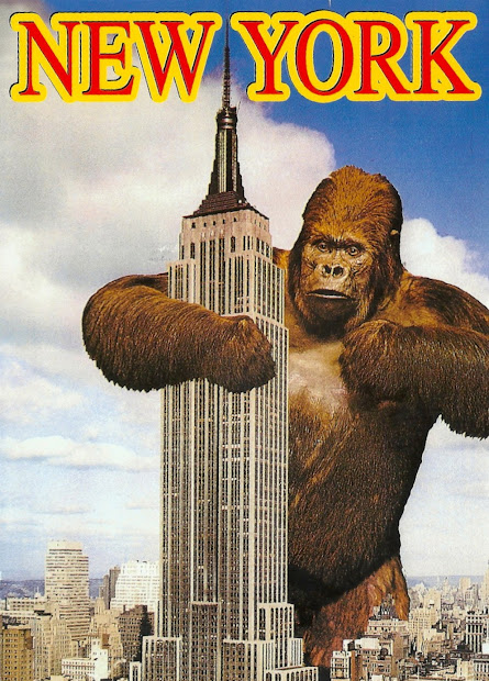 Favorite Funny Postcards King Kong Empire State