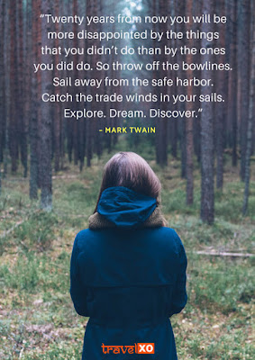Cover Photo: Best Travel Quotes For Travel Inspiration