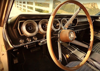 1966 Dodge Charger R/T Hemi Dashboard