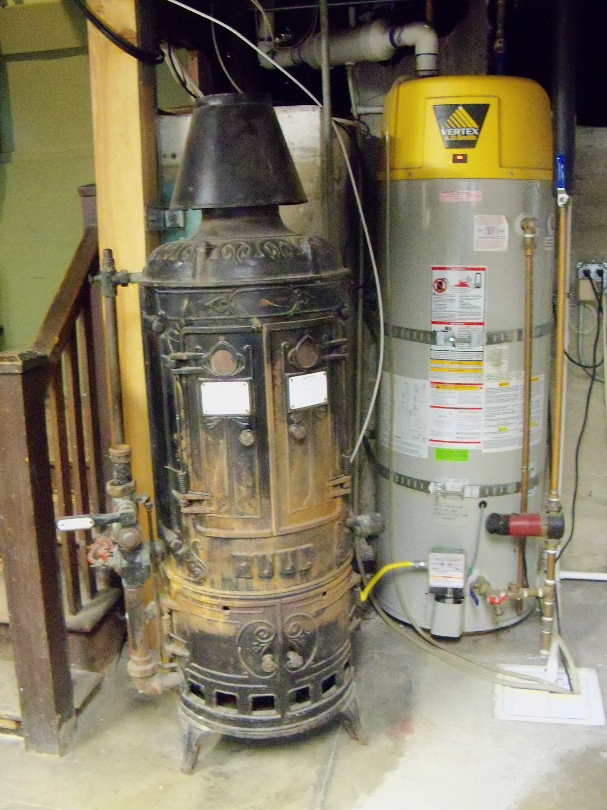 History Los Angeles County Boiler In A Craftsman Home
