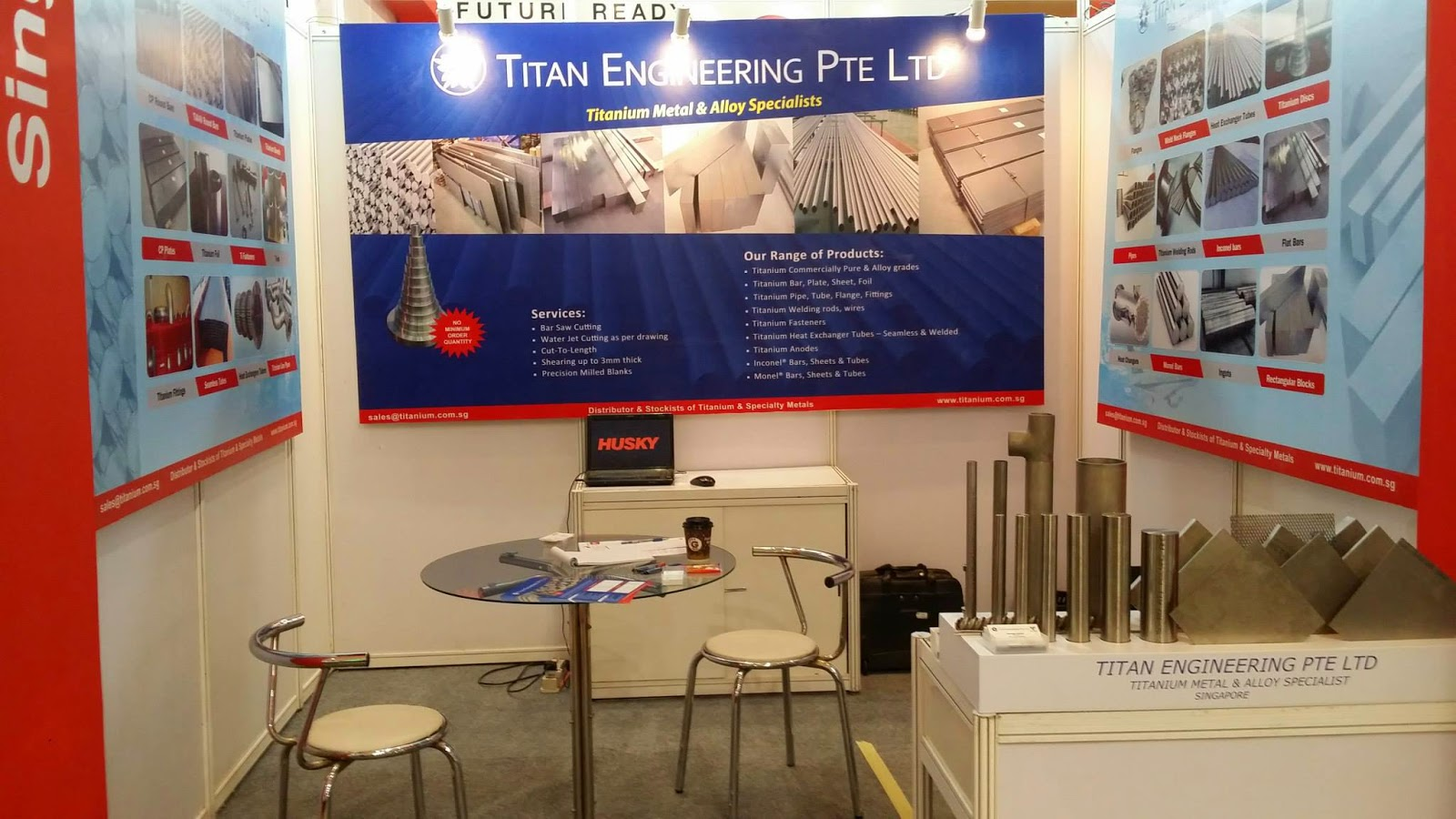 Titanium Metal and Alloy Supplier Singapore: Manufacturing Indonesia