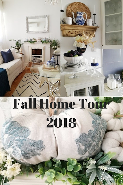 Autumn Is Here - Fall Home Tour 2018