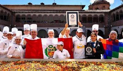 Record Guinnes Causa Rellena Cusco