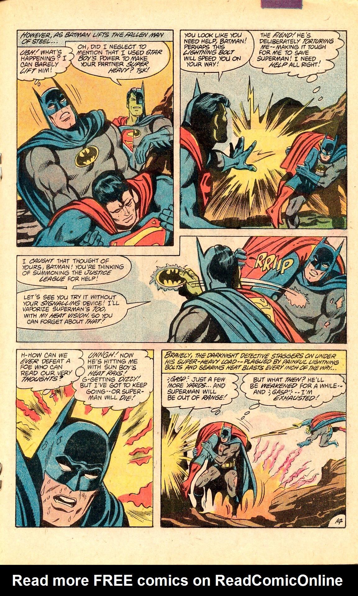Read online World's Finest Comics comic -  Issue #283 - 19