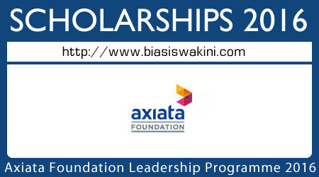Axiata Foundation Leadership Programme 2016