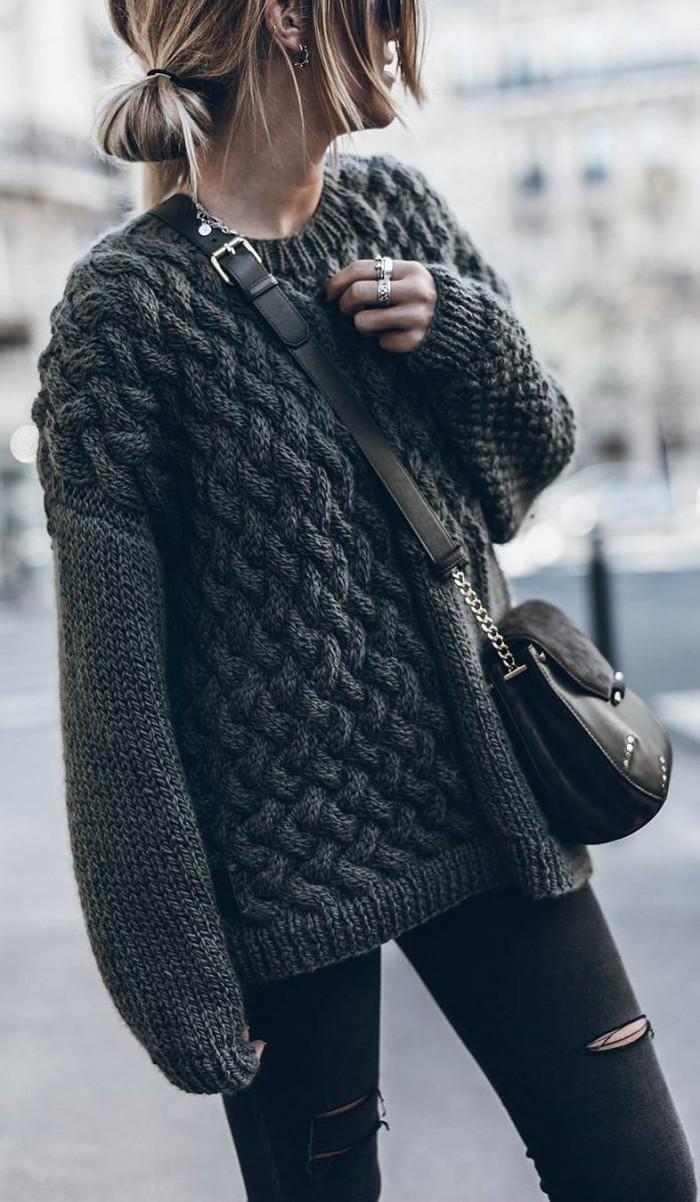 30+ Awesome Outfit Ideas On How To Wear Sweaters