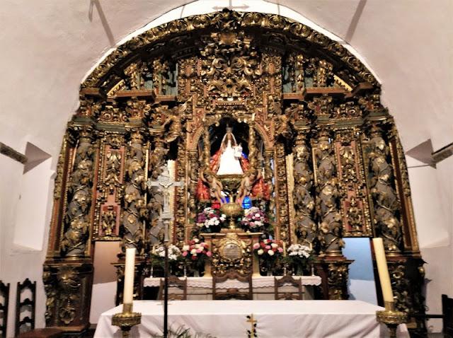Retablo de la Virgen del Acebo