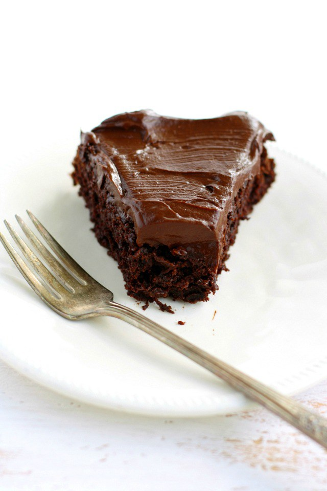 Chocolate Beet Cake with Chocolate Avocado Frosting