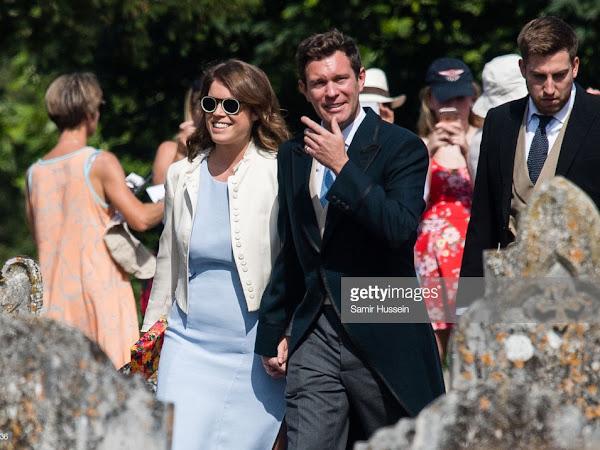 Ślub księżniczki Eugenie z Jack'iem Brooksbank - wstępny plan uroczystości.