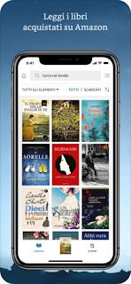Kindle, l'app ufficiale di Amazon per leggere eBook Kindle e PDF si aggiorna alla vers 6.6