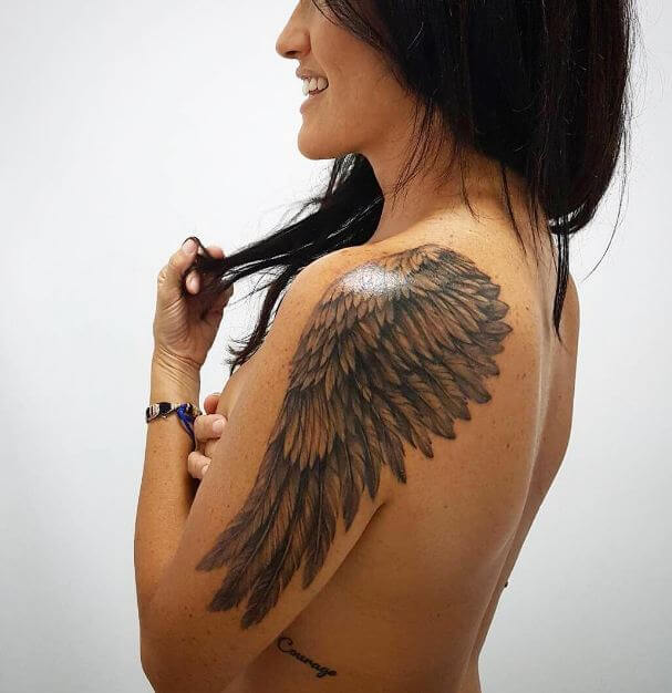 50 Gorgeous Angel Wing Tattoos Designs Ideas 2019 Tattoosboygirl