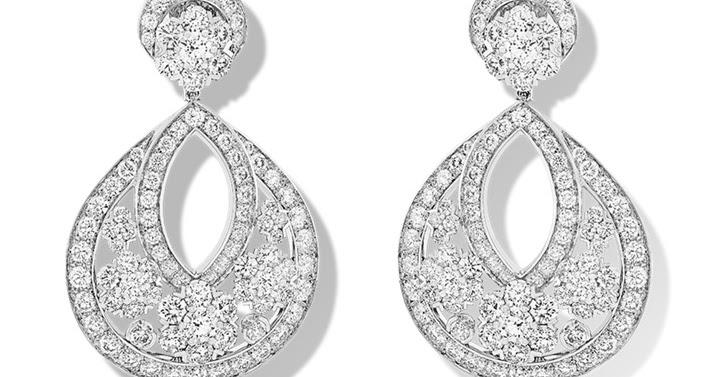 Superb From Her Majesty us Jewel Vault The Duchess of Cornwall us Van Cleef u Arpels Snowflake Earrings