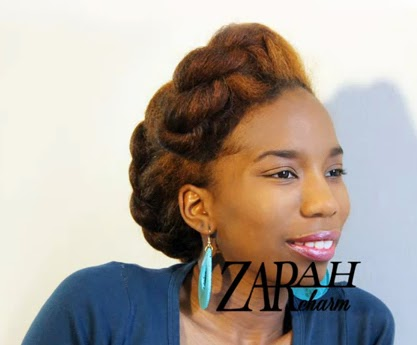 Fine 5 Super Easy Natural Hairstyles Glam Natural Life Natural Hair Short Hairstyles Gunalazisus