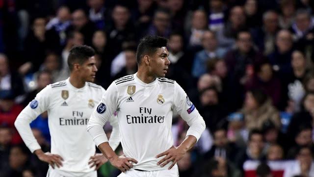 8 لاعبين وراء فضيحة ريال مدريد أمام أياكس