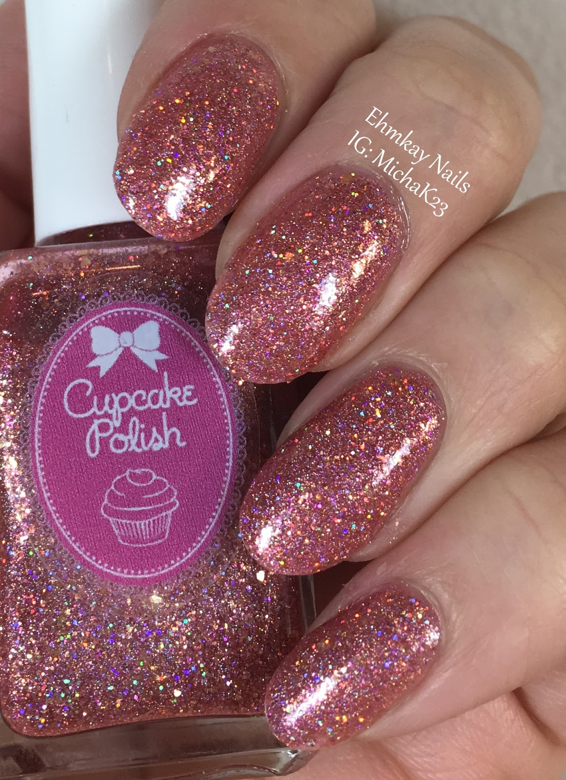 Ehmkay nails valentines day nail art cupcake polish as good as valentines day nail art cupcake polish as good as rose gold and stamping with uberchic beauty prinsesfo Choice Image