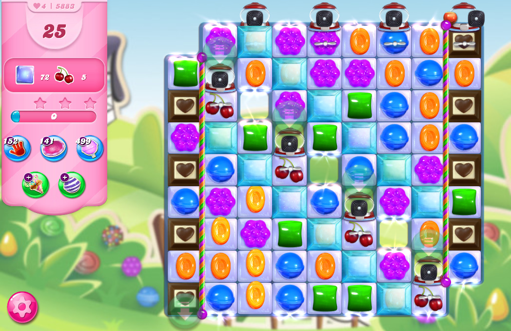 Candy Crush Saga level 5883