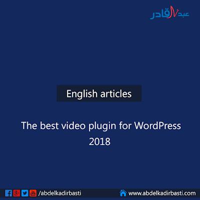 The best video plugin for WordPress 2018