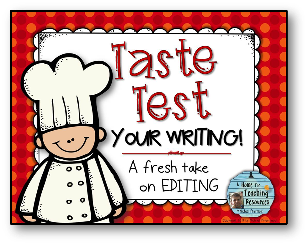 http://www.teacherspayteachers.com/Product/FREEBIE-Taste-Test-Your-Writing-A-Fresh-Take-on-Editing-1081115