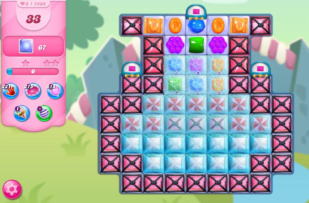 Candy Crush Saga level 7562