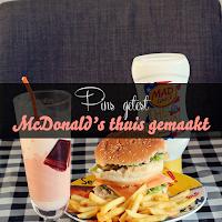 McDonald's thuis gemaakt - Pin getest