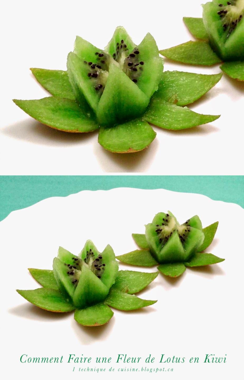 1 technique de cuisine comment faire une fleur de lotus. Black Bedroom Furniture Sets. Home Design Ideas
