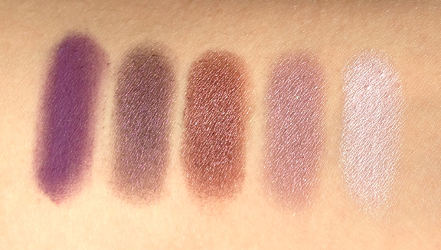 Inglot Eyeshadows - Purple and Burgundy
