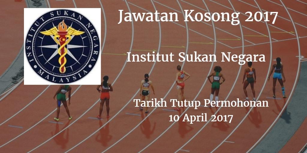 Jawatan Kosong ISN 10 April 2017