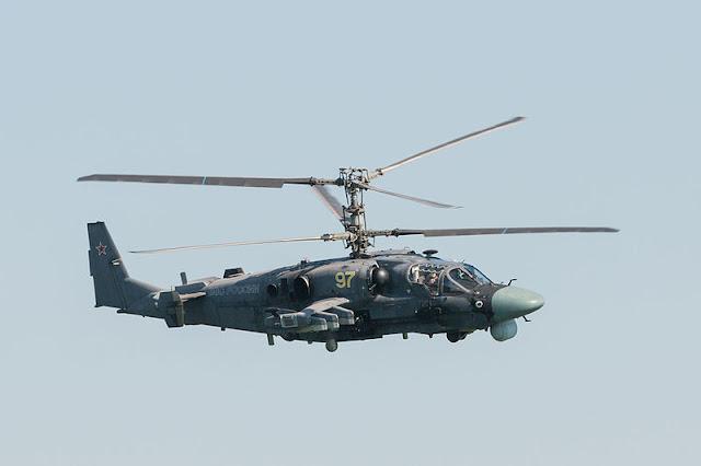 Gambar 10. Foto Helikopter Tempur Kamov Ka-52 Alligator