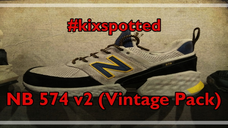 kixspotted  New Balance 574 v2 (Vintage Pack)  d1eb745be22