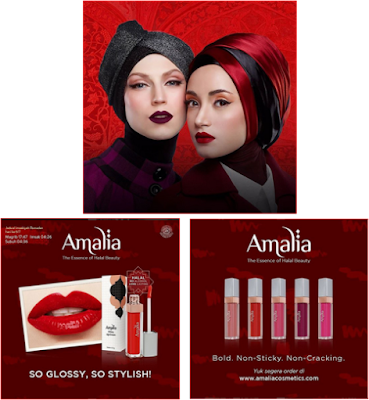 amalia lipstik premium so glossy so stylish