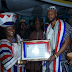 Flavour honoured with a chieftaincy title in Liberia (photos)