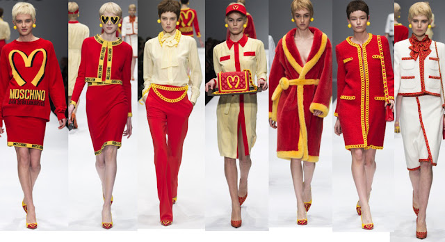 moschino junk food collection
