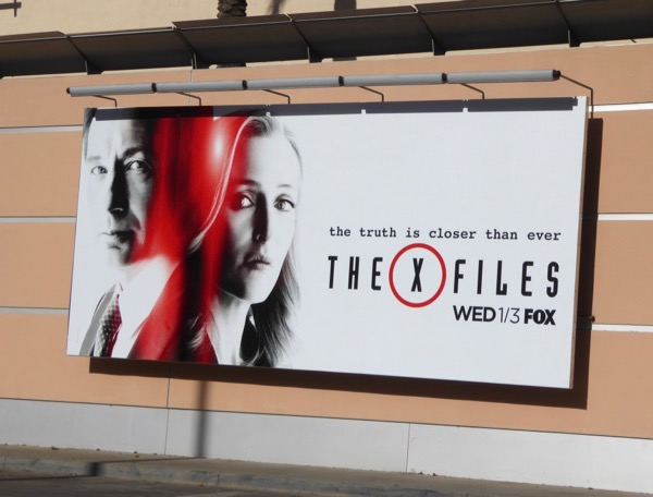 XFiles season 11 billboard