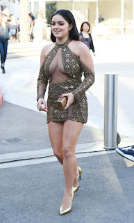 Actress Ariel winter in her short mini dress