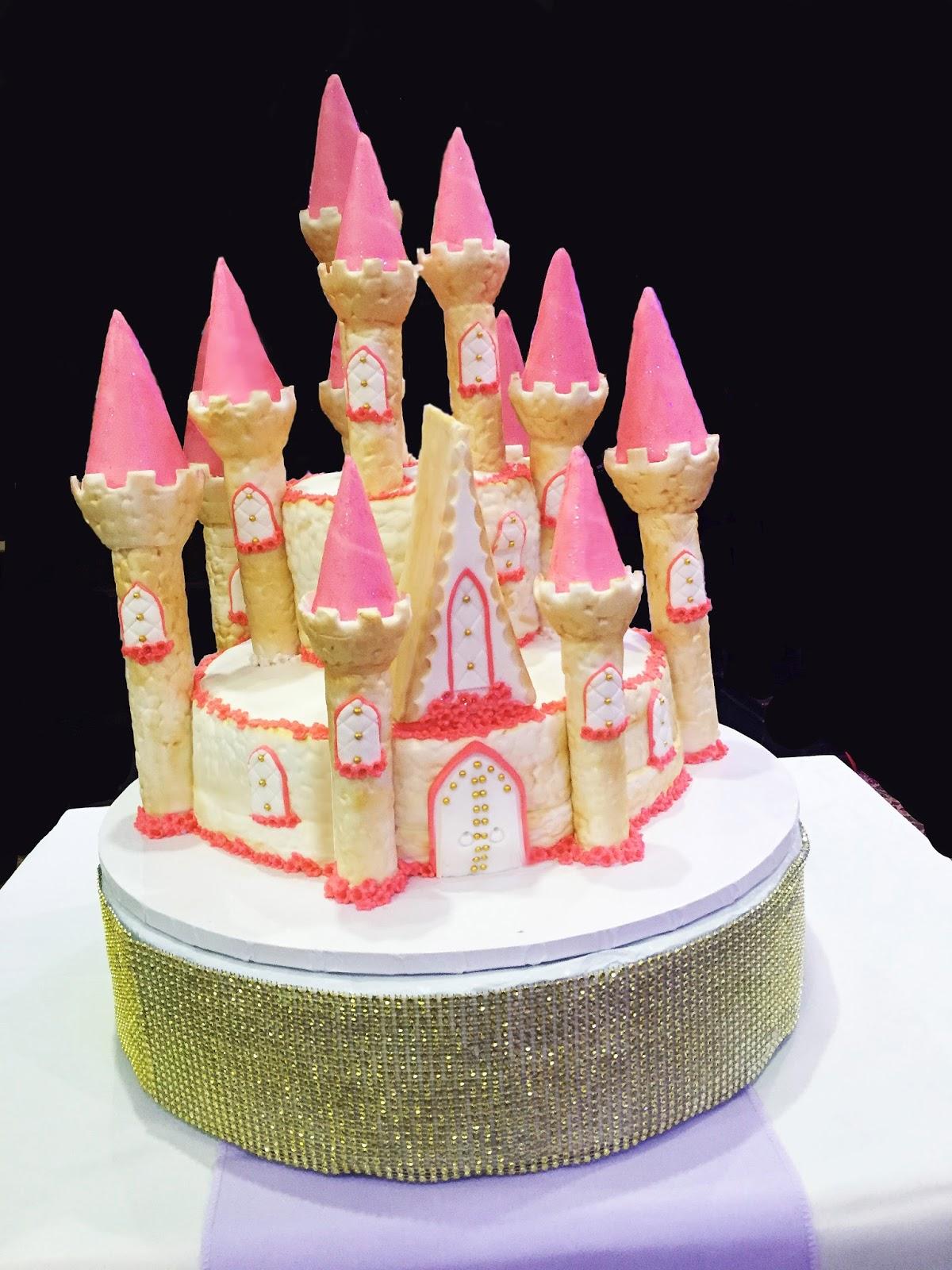 Artnscience Creations Princess Castle Cake
