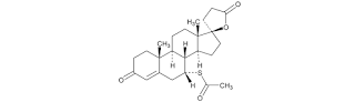 Spironolakton berkompetisi dengan aldosteron pada reseptor di tubulus ginjal distal Spironolakton